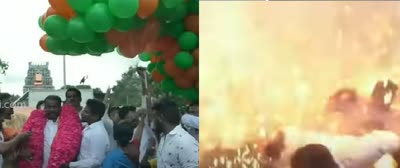Gas-balloon-burst-during-PM-modi-bday-celebration